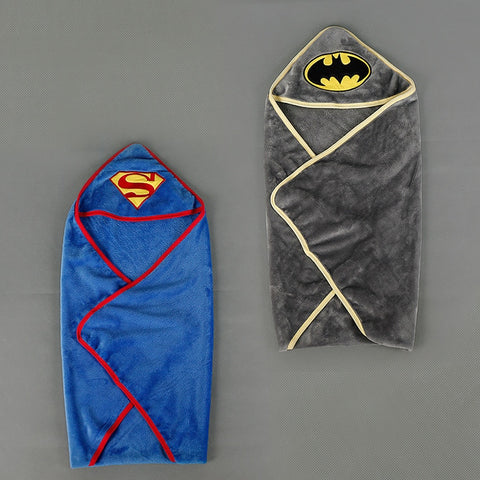Superhero Soft Fleece Swaddling Blanket - tiny-tots-eco