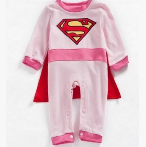 Superman Long Sleeve Halloween Costume - tiny-tots-eco