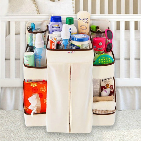 Portable Waterproof Baby Crib Organizer Bag - tiny-tots-eco