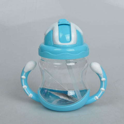 Soft Mouth Duckbill Straw Sippy Cup For Infant Training - tiny-tots-eco
