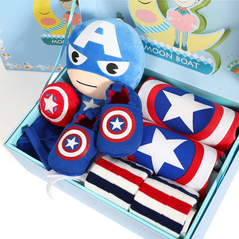 Captain America Sporty Gift Set - tiny-tots-eco