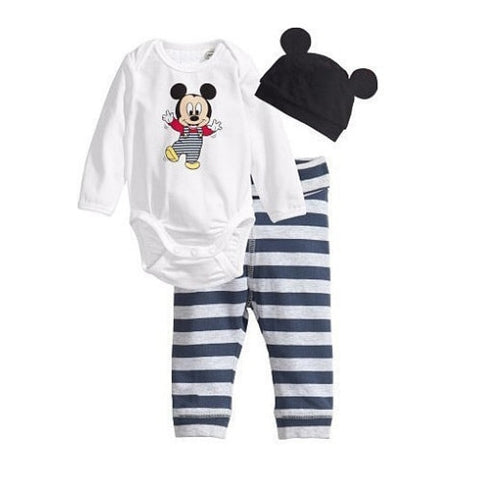 3 Pieces Mickey or Minnie Outfit - tiny-tots-eco