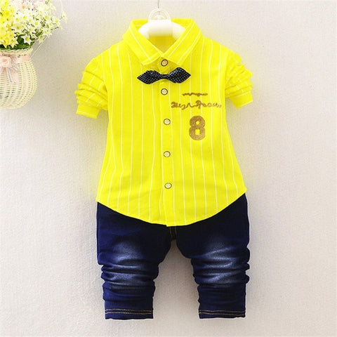 2 Pcs Casual Baby Boy Clothes Set - tiny-tots-eco