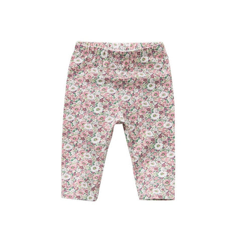 Spring Floral Baby Pants - tiny-tots-eco