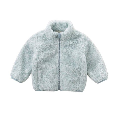 Autumn Thick Solid Color Coats - tiny-tots-eco