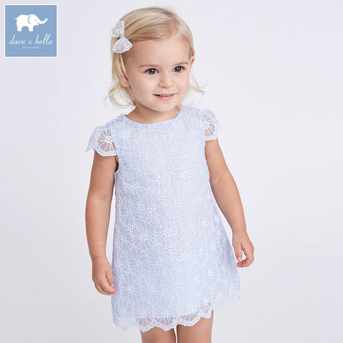 Summer Princess Baby Blue Dress - tiny-tots-eco