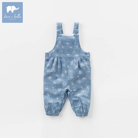 Baby Girl Denim Overalls - tiny-tots-eco