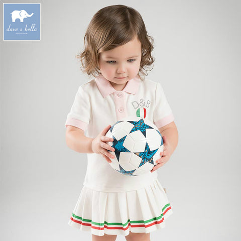 Sporty Baby Girl Dress - tiny-tots-eco