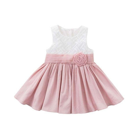 Princess Flower Designed Dress for Girls - tiny-tots-eco