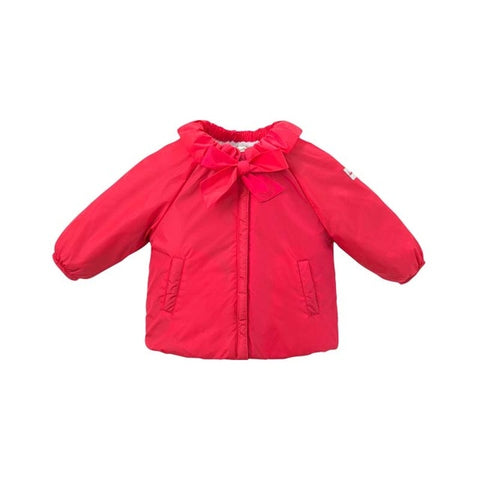 Autumn Baby Girl Ruffle Collar Long Sleeve Shirt - tiny-tots-eco