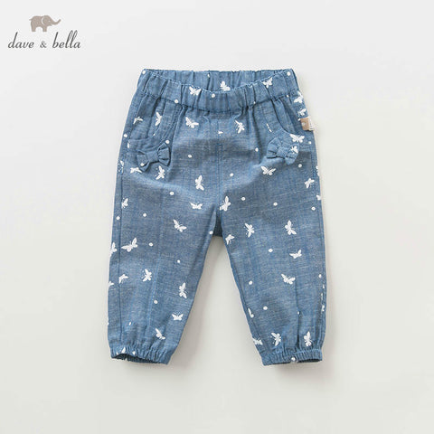 Spring Butterfly Patterned Pants - tiny-tots-eco
