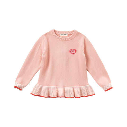 Lovely Baby Girl Sweater - tiny-tots-eco
