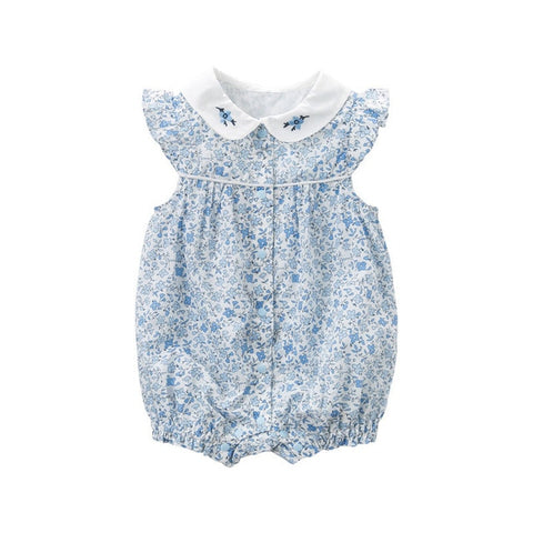 Summer Sleeveless Romper for Girls - tiny-tots-eco