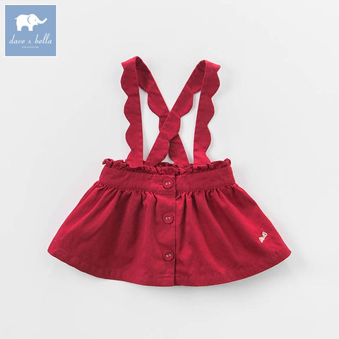 Baby Girl Suspenders Strap Dress - tiny-tots-eco