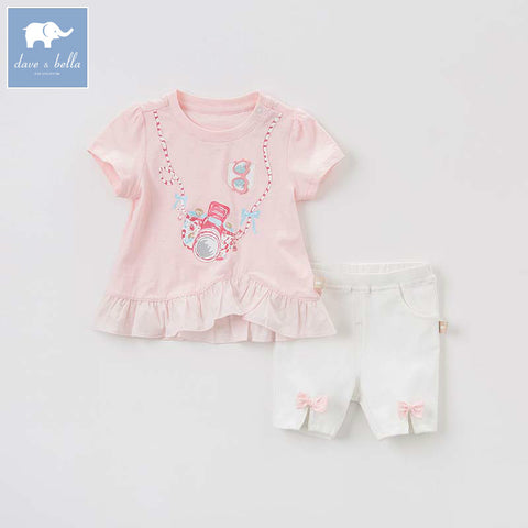 Summer Short Sleeve Shirt + Shorts Outfit - tiny-tots-eco