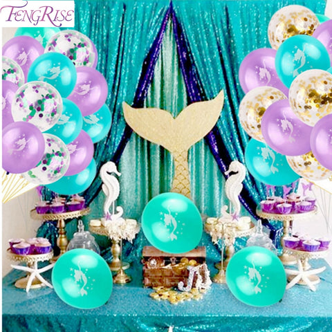 Little Mermaid Party Supply - tiny-tots-eco
