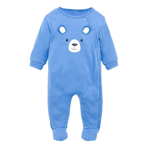 Winter Baby Cotton Overalls - tiny-tots-eco