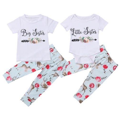 41fe3d2df535b Floral Big Sister Little Sister Matching Outfit