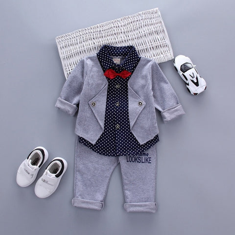Formal Yet Comfy Outfit For Boys - tiny-tots-eco