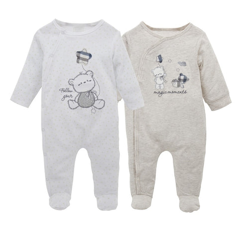 2 Piece Baby Infant Jumsuits - tiny-tots-eco