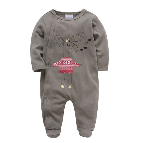 Winter Long Sleeve Romper for Babies - tiny-tots-eco