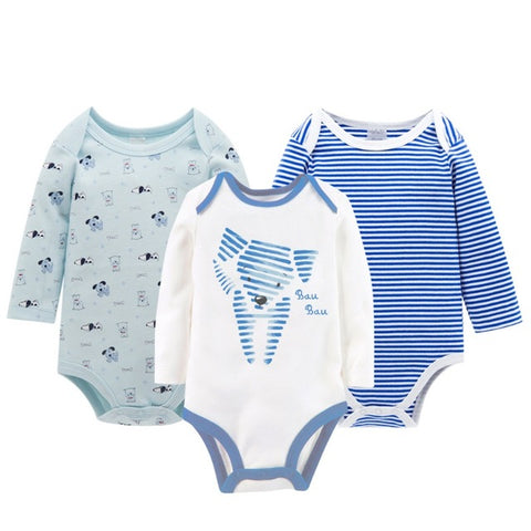 Winter Warm Baby Rompers - tiny-tots-eco