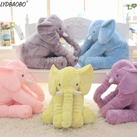 Adorable Elephant Plush Toy With Long Nose - tiny-tots-eco