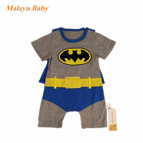 Baby Superhero Jumpsuit - tiny-tots-eco