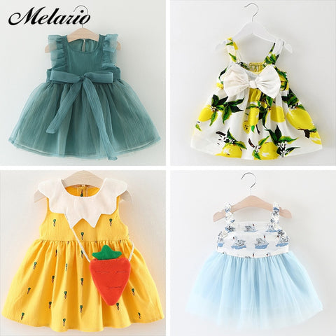Baby Girls Cute Princess Dresses - tiny-tots-eco