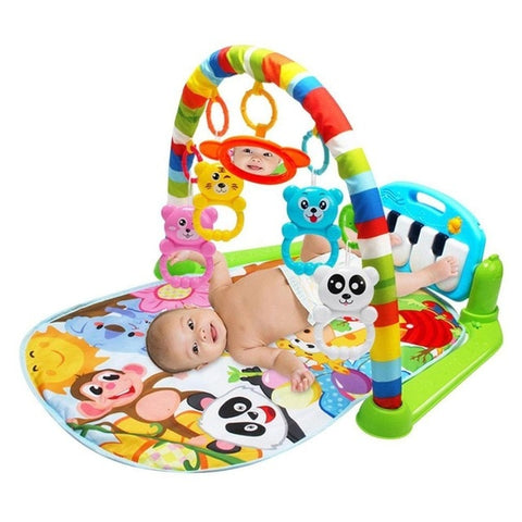 New 3 in 1 Baby Developing Mat with Piano Keyboard - tiny-tots-eco