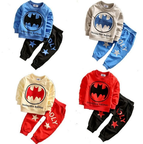 Spring Baby Boys Cool Spider man Clothes set - tiny-tots-eco