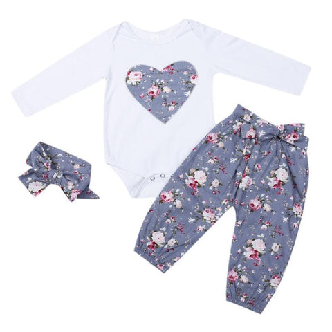Lovable Long Sleeve Set For Girls - tiny-tots-eco