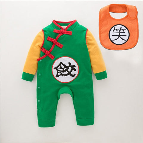 Goku Long Sleeves Jumpsuits For Boys - tiny-tots-eco