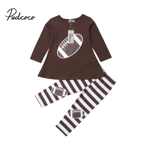 Sporty Baby Girl Cotton Outfit Set - tiny-tots-eco