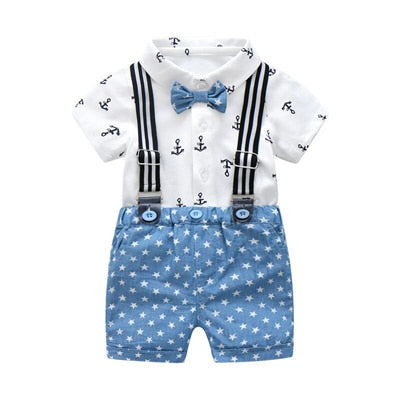 Summer Gentleman Outfit For Boy - tiny-tots-eco