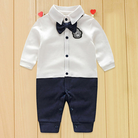 Little Gentleman Romper - tiny-tots-eco