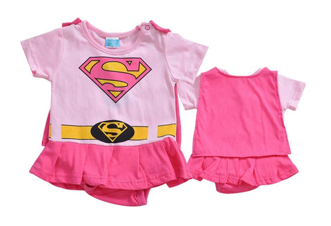 Superhero Jumpsuit Baby Outfit - tiny-tots-eco