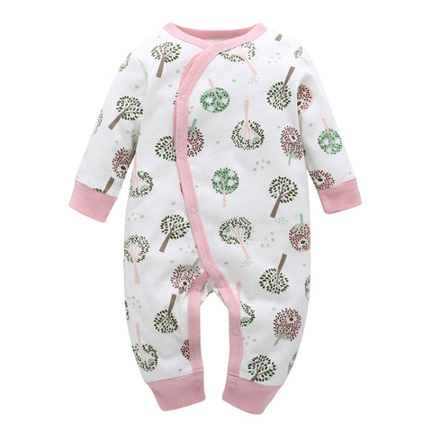 One Piece Long Sleeve Cotton Essential - tiny-tots-eco