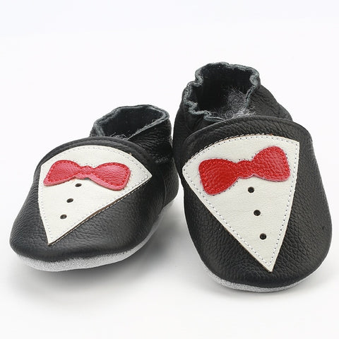 Leather Anti-Slip Baby Shoes - tiny-tots-eco