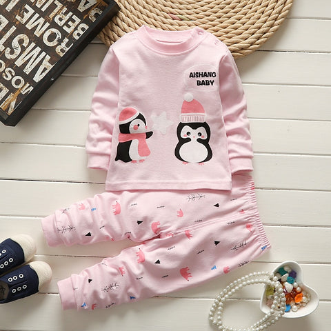 Adorable Cotton Set Shirt + Pants - tiny-tots-eco