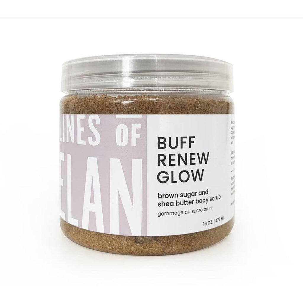 Buff Renew Glow (Brown Sugar Body Scrub)