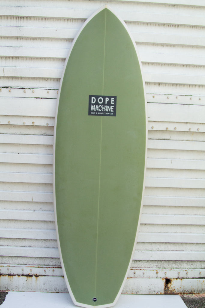 "MISFIT SHAPES 5'6"" Dope Machine FCS 2"