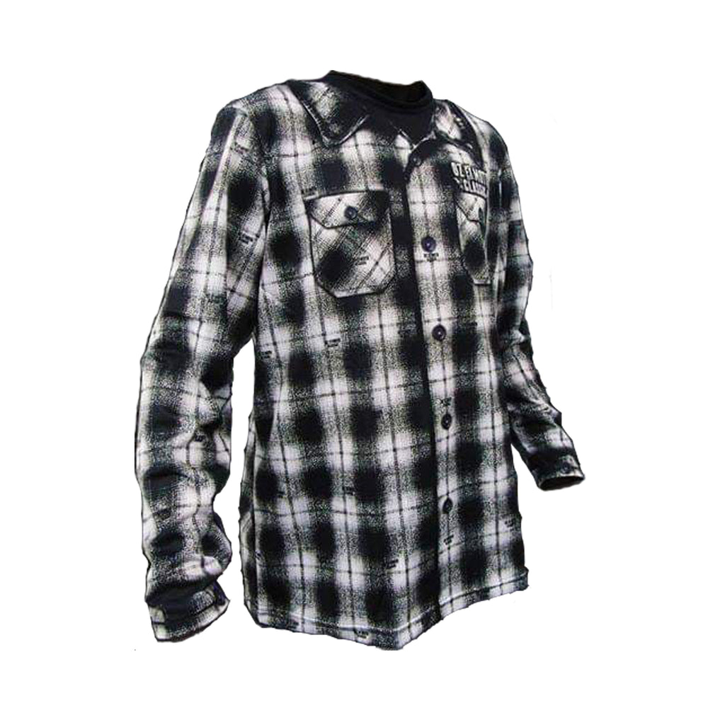 OZ Ex Moto Classic - Flannel Inspired Jersey- Black