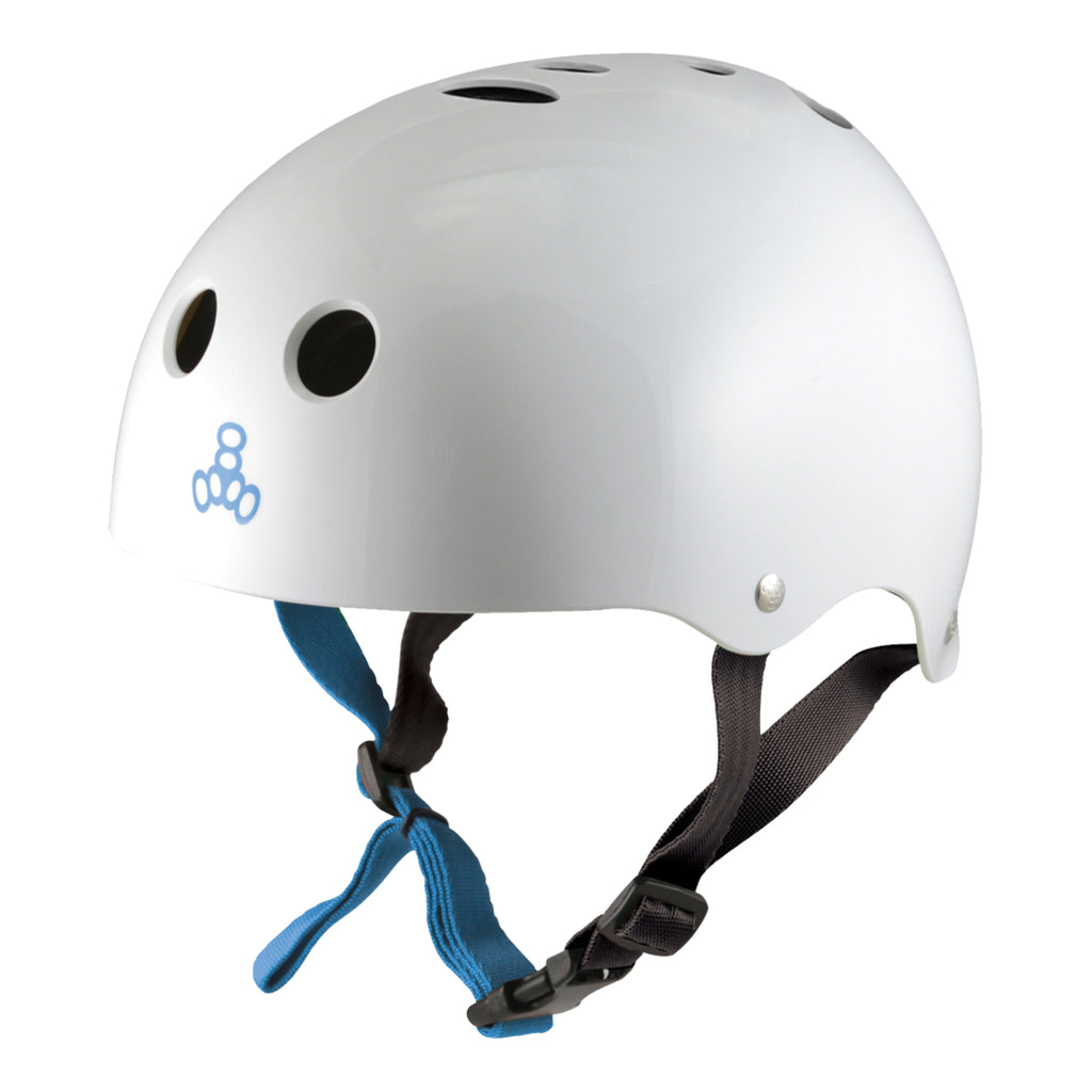 Triple Eight Helmets WATER HALO SWEATSAVER - White Gloss