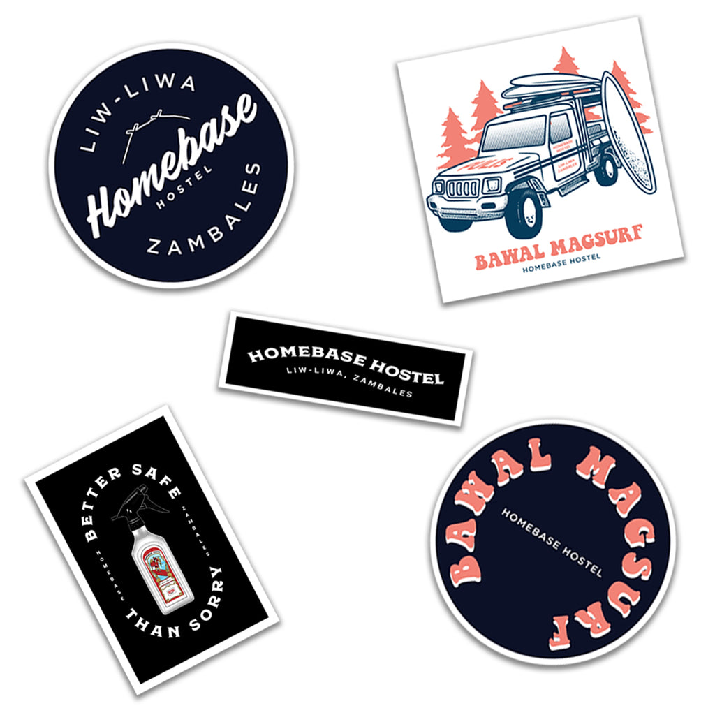 Homebase Hostel Sticker Pack