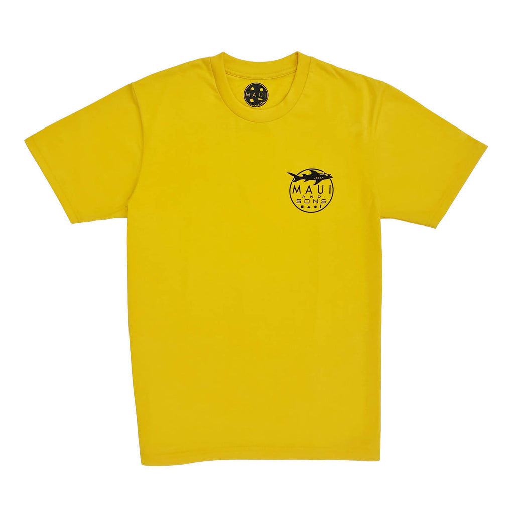 M&S RN LOGO TEE (Yellow)