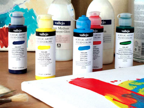 Vallejo - Fine Arts - Acrylic Artist Fluid Color