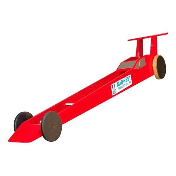 Midwest Products - The Dragster wooden activity kit