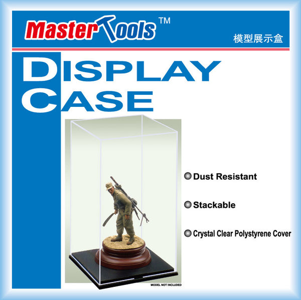 09807 - Master Tools Model Display Case - Figures