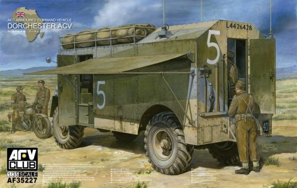 AFV35227 - AFV Club 1/35 British AEC Dorchester Armoured Command Vehicle